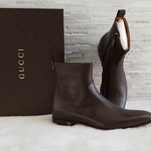 Gucci Calf Boots, Men's